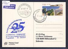 55730) ju air tan-LP con Ju 52 Auerbach-Dübendorf suiza 26.8.07, card omán