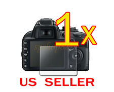1x Clear LCD Screen Protector Guard Film For Nikon D3100 Camera