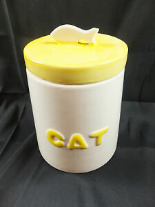 28: CAC 02 / CAT TREAT / KIBBLE JAR - COUNTRY KITCHEN