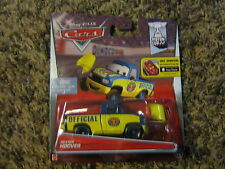 DISNEY PIXAR CARS 2 PISTON CUP SERIES DEXTER HOOVER W/ YELOW FLAG