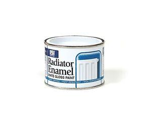White Radiator ENAMEL PAINT Indoor Outdoor Hard Performance Drying High Build