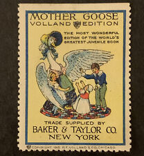 S7/38 US Poster Stamp Cinderella 1915 Mother Goose Volland Edition MNH Gr. Coll