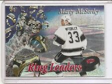MARTY MCSORLEY 1994-95 TOPPS FINEST # 11 RING LEADERS * LOS ANGELES KINGS