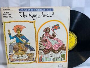 THE KING AND I Rodgers & Hammerstein's Soloists Orchestra LP Record Album Vinyl