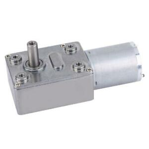 24V 6-150RPM Micro DC Speed Reduction Motor High Torque Turbo Worm Gear Motor M
