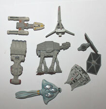 Star Wars Galoob Micro Machines Y-Wing Naboo Snowspeeder Blockade T-16 Lot