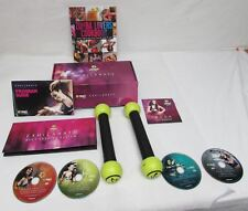 Zumba Fitness Exhilarate Body Shaping System 5 DVD Set with Toning Sticks COOKBO