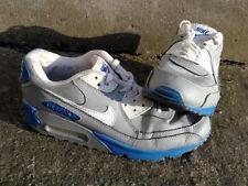 Nike Air Max - Grey/White/Blue, Men's Size UK8.5 US9.5 EUR43 27.5CM, USED