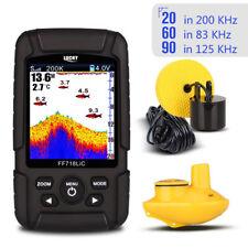 Portable 100M Fish Finder Wireless & Transducer Fishing Helper Sonar Detection