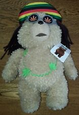 Ted - Rasta Talking Bear - Plush Soft Toy - 30cm - Good Condition With Tags