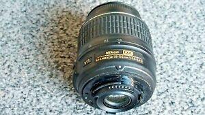 NIKON AF-S DX NIKKOR 18-55mm 1:3.5 - 5.6G VR CAMERA LENS