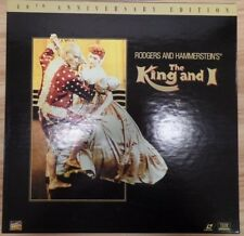 The King and I 40th Anniversary Fox 1996 Wide Screen Laserdisc 071018DBLD