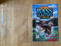 Bass Masters Classic SNES Super Nintendo Authentic Instruction Manual Book ONLY