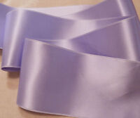 "2-3/4"" WIDE SWISS DOUBLE FACE SATIN RIBBON-  IRIS-   BTY"