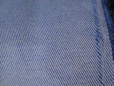 wundersch. leichterer Wollstoff Diagonalköper, royal/weiß 100% SW