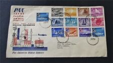 nystamps British Singapore Stamp Used Early FDC