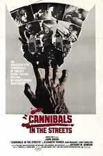 Cannibal Apocalypse Poster 03 Metal Sign A4 12x8 Aluminium
