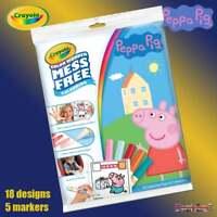 Crayola Peppa Pig Color Wonder Magic Mess Free Magic Colouring Book Set inc Pens
