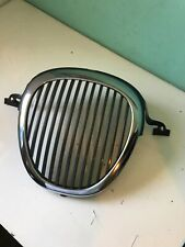 2000 2001 2002 2003 2004 Jaguar S Type Front Grille Chrome OEM 01 02 03 04 good