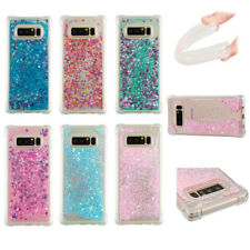 Bling Liquid Glitter Star Quicksand TPU Back Cover Case For iPhone Huawei Sony