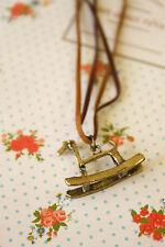 Collar de caballo de Troya Lindo Colgante De Moda Regalo Novedad Estilo Kitsch Boho Chic