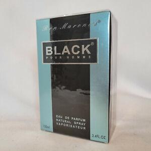 Ron Marone Black Pour Homme 3.4 oz / 100 ml Eau De Parfum spray for men