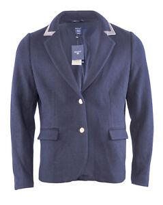 GANT Men`s Blazer Size 46 Knitted Wool Blend Jacket