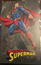 SUPERMAN  Embossed Tin Metal Sign