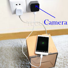 TOGUARD Wall Charger Hidden Camera Family SPY Nanny HD 1080P Wifi App Control US