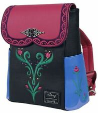 Loungefly x Disney Frozen Anna Cosplay Mini Backpack, Multi Colored, Large