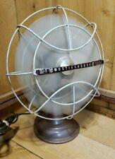 Vintage Westinghouse Table Top Fan Part #Y-35256 Cat No. 10LA4 Works Great