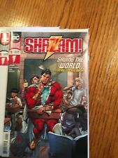 DC Comics, Comic Book Lot, Shazam #1-6 Blank Cover 1 Variant Cover NM + Print