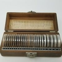 Vintage Set of 25 E-3A Tracerlab Radiation Absorber Test Discs