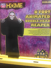 6 Foot Animated Bobble Head Reaper , Life Size Prop , Life Size Grim Reaper