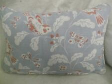 "SONG BIRD BY JANE CHURCHILL OBLONG CUSHION  18"" X 12 ""(46 CM X 30 CM)"