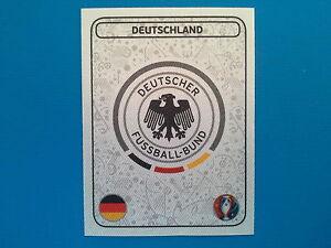 Panini Euro 2016 Swiss Star Edition Sticker n.234 Badge Deutschland