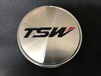 """TSW Custom Wheel Center Cap Machined Finish C-D11 C-011 Diameter 2 9/16"""""""