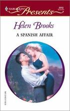 Spanish Affair (Latin Lovers), Brooks, Helen, 0373122136, Book, Acceptable