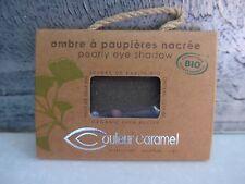COULEUR CARAMEL - Ombre à paupières nacrée n°118 gris vert étoilé