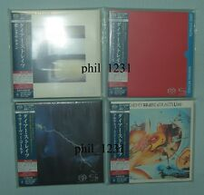 5x DIRE STRAITS Japan SHM SACD Mini-LP Knopfler Alchemy Love Over Gold Movies