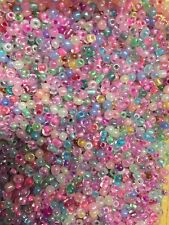 NEW Jewellery Making Beads 3mm - Plastic - 50 Grams
