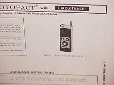 1972 LAFAYETTE CB RADIO SERVICE SHOP MANUAL MODEL DYNA-COM 23 (99-32567L)