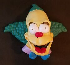 The Simpsons Krusty Clown Rubber Latex Mask Adult Halloween Costume 2002