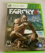 X Box 360 Far Cry 3 Rated M 17+ UBISOFT Pre-owned