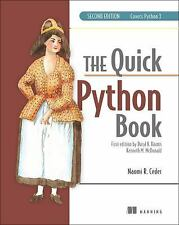 The Quick Python Book by Vernon L. Ceder and Naomi R. Ceder (2010, Paperback)