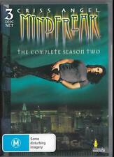 CRISS ANGEL MINDFREAK SEASON 2 -  NEW & SEALED R4 DVD 3 DISCS FREE LOCAL POST