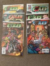Exiles Volume 2 complete mini series #1-6 Blink Scarlet Witch Black Panther