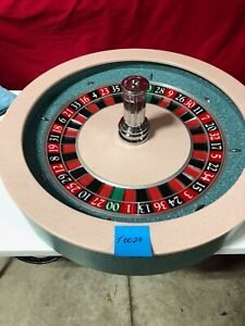 Roulette Wheel  32 Inch (Used) T-0020 Paulson  0/00