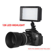 CN-126 LED Video Light Lamp For Canon Nikon DSLR Digital Camera DV Camcorder