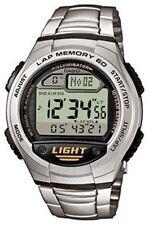 Casio W-734D-1A Orologio Uomo Batteria 10 anni, Contapassi, Crono, Memoria Lap